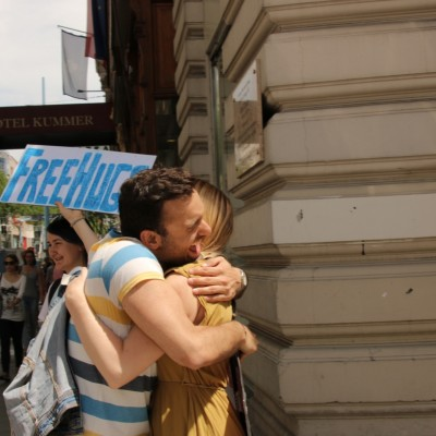 Free Hugs Vienna 24 May 2014 100