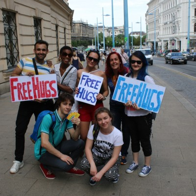 Free Hugs Vienna 24 May 2014 355