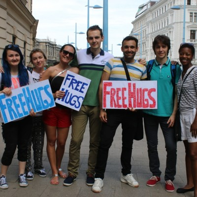 Free Hugs Vienna 24 May 2014 365