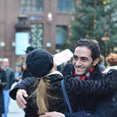 Free Hugs Vienna 23 November 2014  011