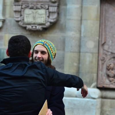 Free Hugs Vienna 23 November 2014  014