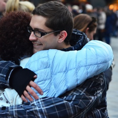 Free Hugs Vienna 23 November 2014  015