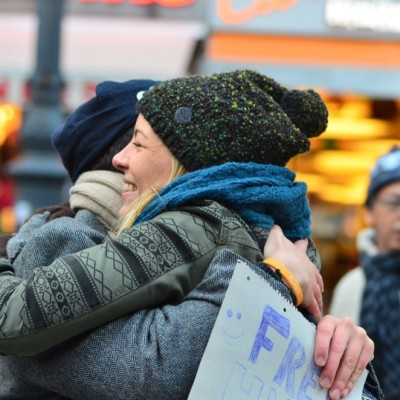 Free Hugs Vienna 23 November 2014  020