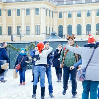 Free Hugs Vienna December 21st, 2014 - Picture by Stefan Diesner