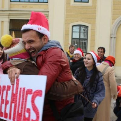 Free Hugs Vienna 21 December 2014  011