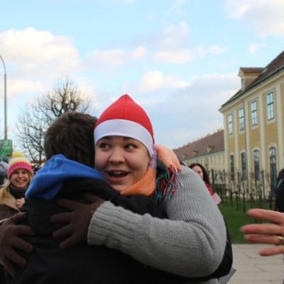 Free Hugs Vienna 21 December 2014  012