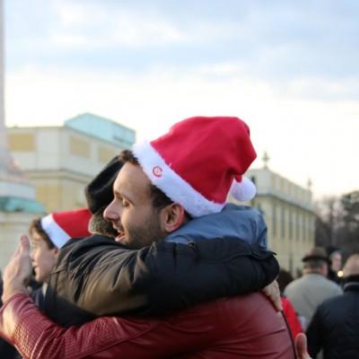 Free Hugs Vienna 21 December 2014  035