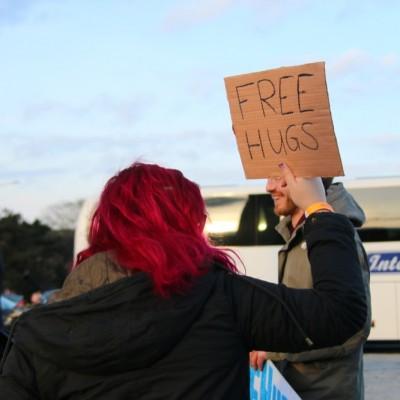Free Hugs Vienna 21 December 2014  040