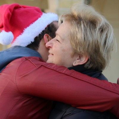 Free Hugs Vienna 21 December 2014  049