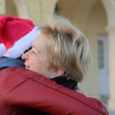 Free Hugs Vienna 21 December 2014  050