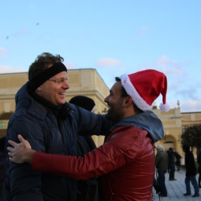 Free Hugs Vienna 21 December 2014  054