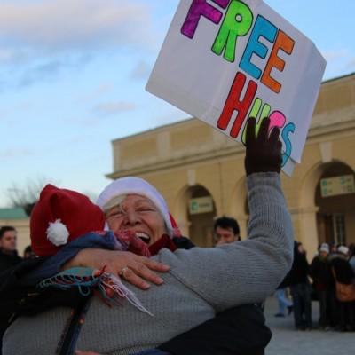 Free Hugs Vienna 21 December 2014  057
