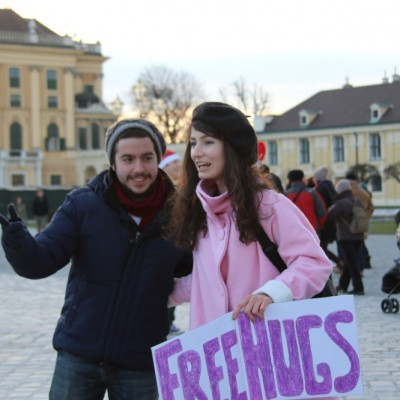 Free Hugs Vienna 21 December 2014  064