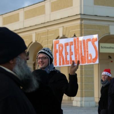 Free Hugs Vienna 21 December 2014  067