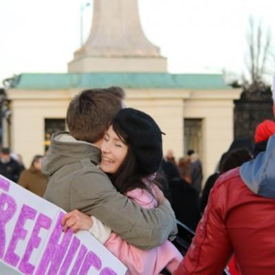 Free Hugs Vienna 21 December 2014  068