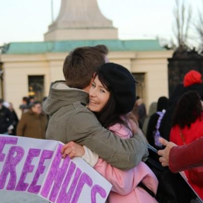 Free Hugs Vienna 21 December 2014  069