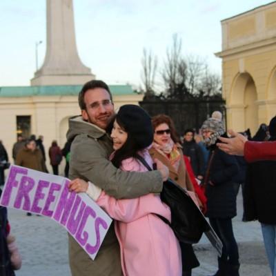 Free Hugs Vienna 21 December 2014  070
