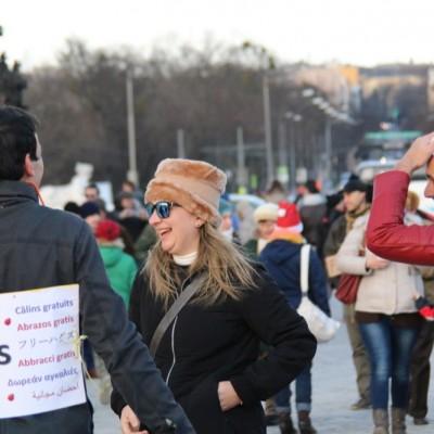 Free Hugs Vienna 21 December 2014  072