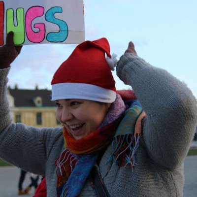Free Hugs Vienna 21 December 2014  074