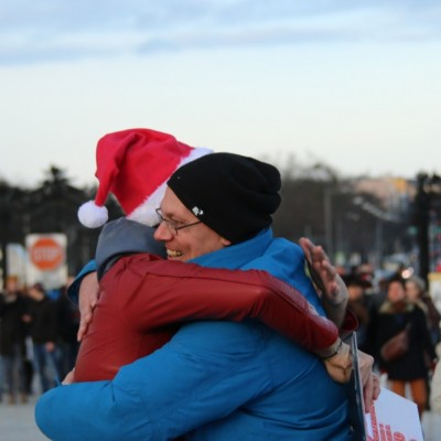 Free Hugs Vienna 21 December 2014  080