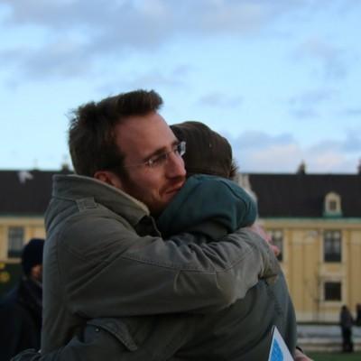 Free Hugs Vienna 21 December 2014  083