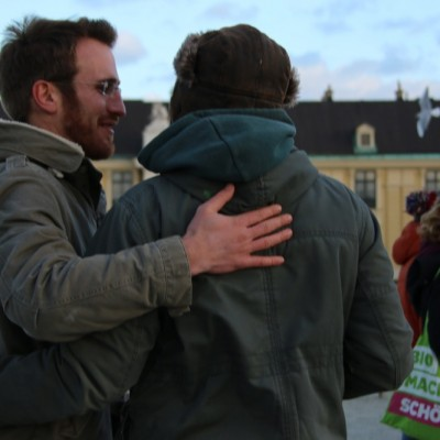 Free Hugs Vienna 21 December 2014  085