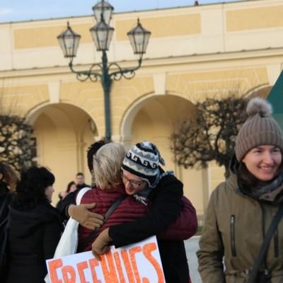 Free Hugs Vienna 21 December 2014  088