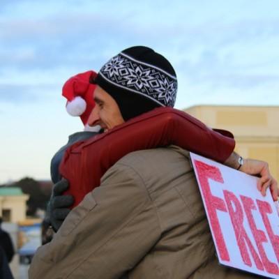 Free Hugs Vienna 21 December 2014  090