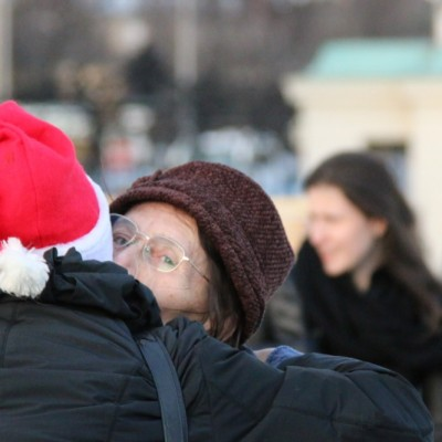 Free Hugs Vienna 21 December 2014  092