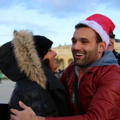 Free Hugs Vienna 21 December 2014  097