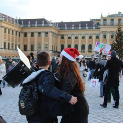 Free Hugs Vienna 21 December 2014  101