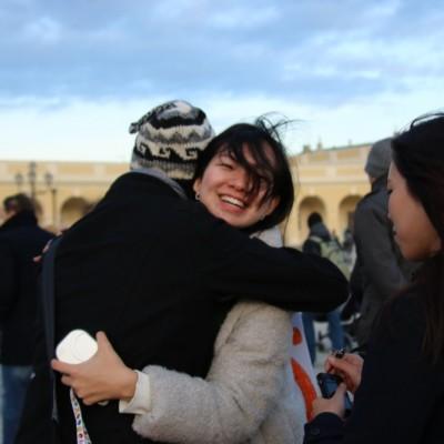 Free Hugs Vienna 21 December 2014  107