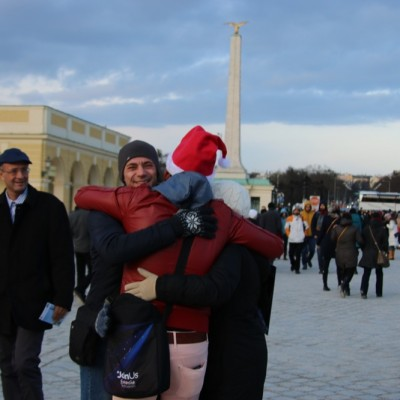Free Hugs Vienna 21 December 2014  114