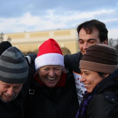 Free Hugs Vienna 21 December 2014  117