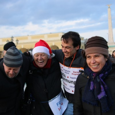Free Hugs Vienna 21 December 2014  118
