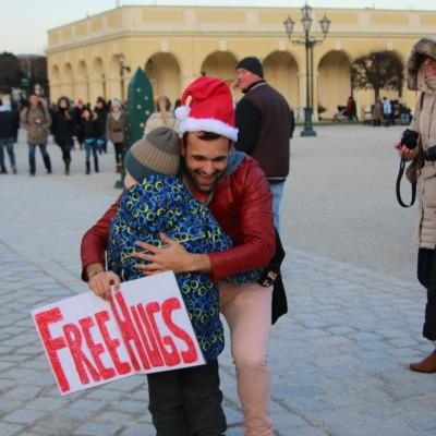 Free Hugs Vienna 21 December 2014  122