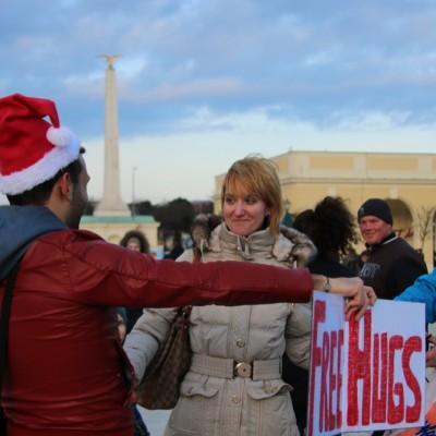 Free Hugs Vienna 21 December 2014  123
