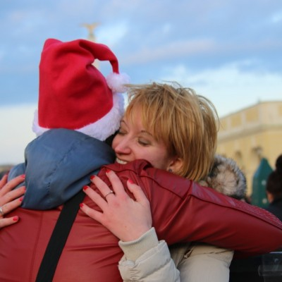 Free Hugs Vienna 21 December 2014  124