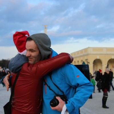 Free Hugs Vienna 21 December 2014  125