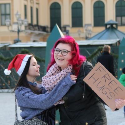 Free Hugs Vienna 21 December 2014  130