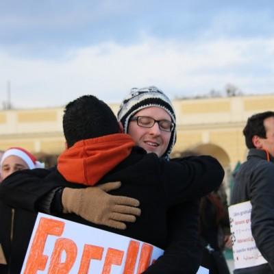 Free Hugs Vienna 21 December 2014  131
