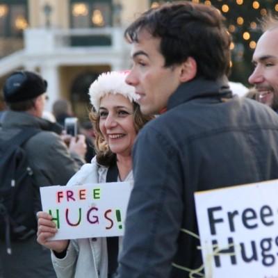Free Hugs Vienna 21 December 2014  139