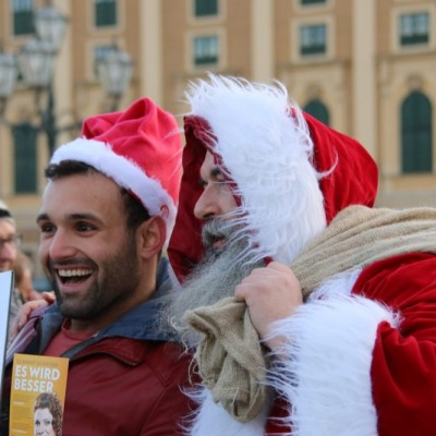 Free Hugs Vienna 21 December 2014  145
