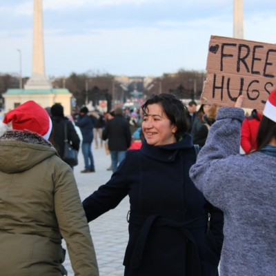Free Hugs Vienna 21 December 2014  148