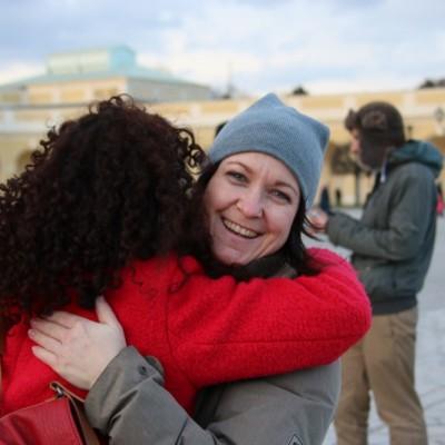 Free Hugs Vienna 21 December 2014  152