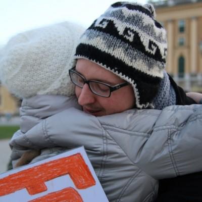 Free Hugs Vienna 21 December 2014  157