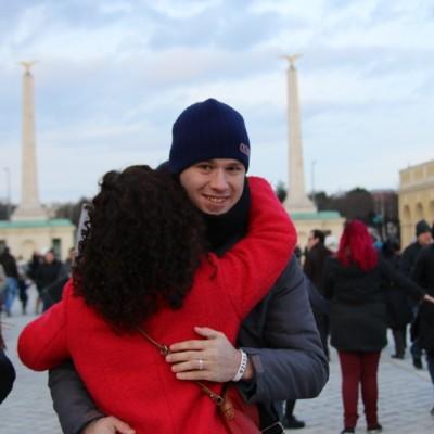 Free Hugs Vienna 21 December 2014  162