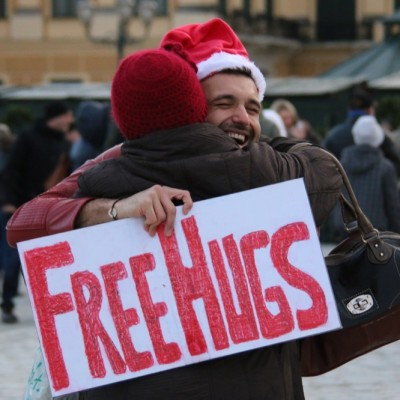 Free Hugs Vienna 21 December 2014  172