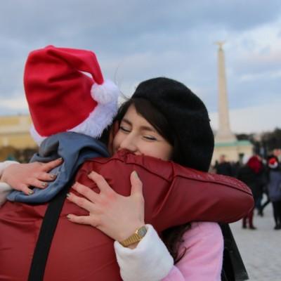 Free Hugs Vienna 21 December 2014  176