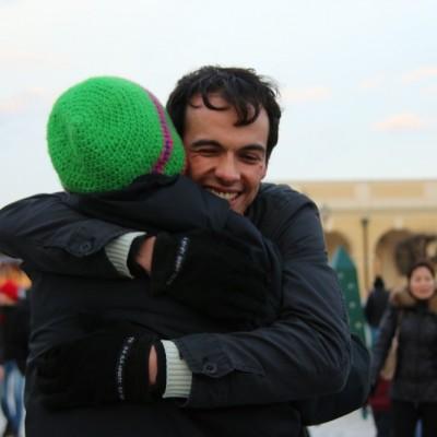 Free Hugs Vienna 21 December 2014  190